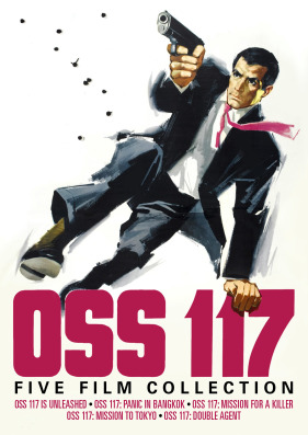 OSS 117: Five Film Collection (OSS 117 Is Unleashed / OOSS 117: Panic in Bangkok / OSS 117: Mission For a Killer /  OSS 117: Mission to Tokyo / OSS 117: Double Agent) (3-Discs)